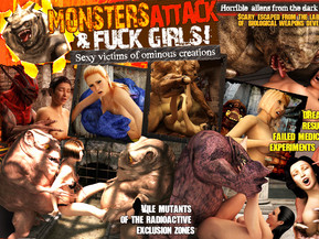 There is no escape for sexy girls from alien monsters fucking hunters, hidden in darkest pigeonholes! 100% original and exclusive XXX 3D HD movies with