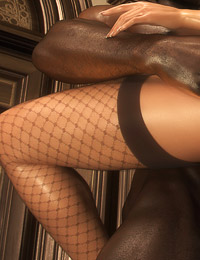 Big black 3D dick fucked a blonde in the vintage church